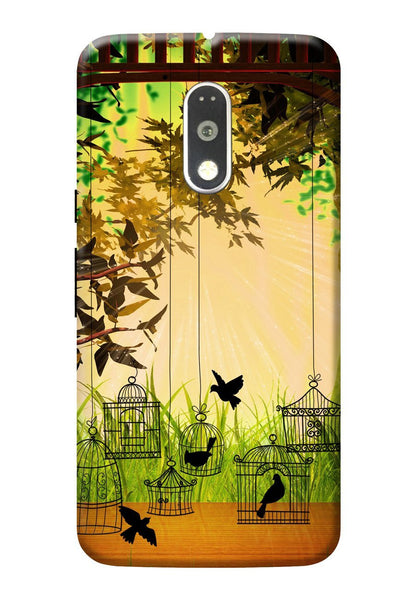 Hamee Designer Series - Birds - OnePlus 3T Phone Cover - Hamee India