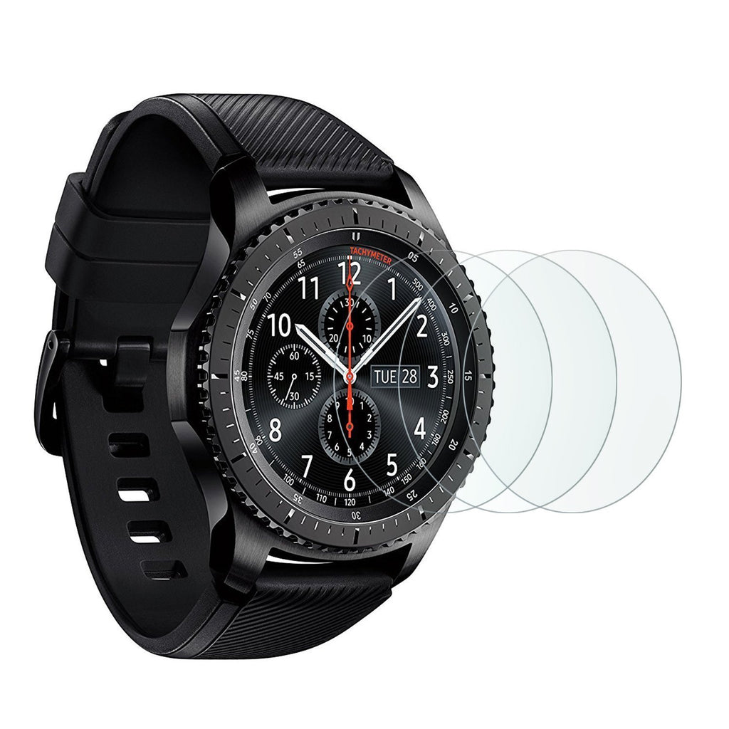 Samsung Gear S3 Smart Watch Screen Protector Tempered Glass-Hamee India
