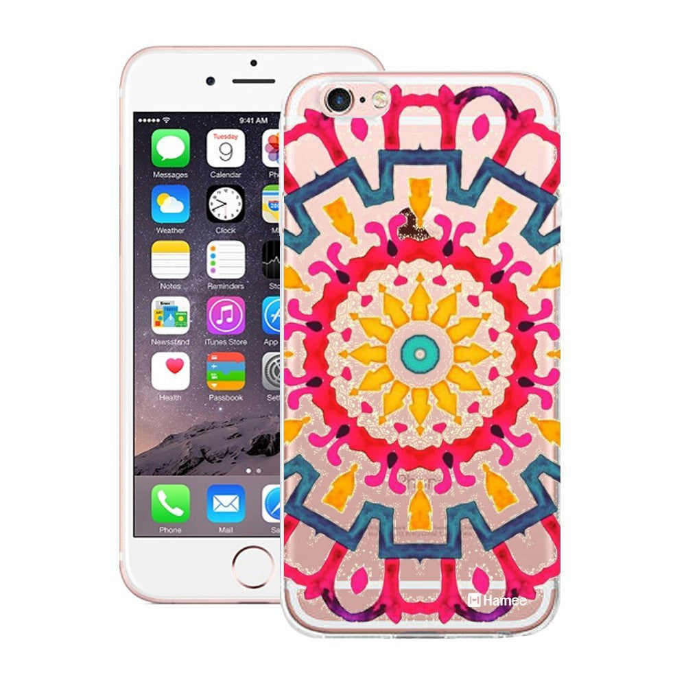 Hamee Large Colourful Mandala Designer Cover For iPhone 5 / 5S / Se-Hamee India