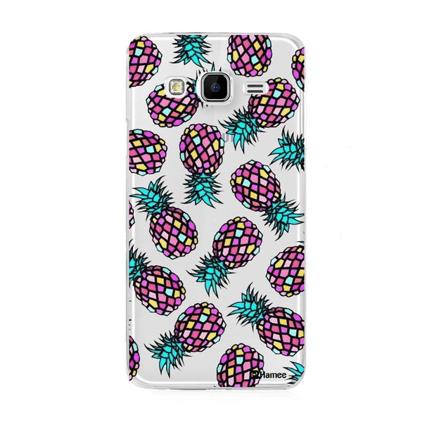 Hamee Cool Pineapples Designer Cover For Samsung Galaxy J3 - Hamee India