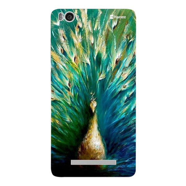 Hamee Beautiful Peacock Painting Designer Cover For Xiaomi Redmi 3-Hamee India