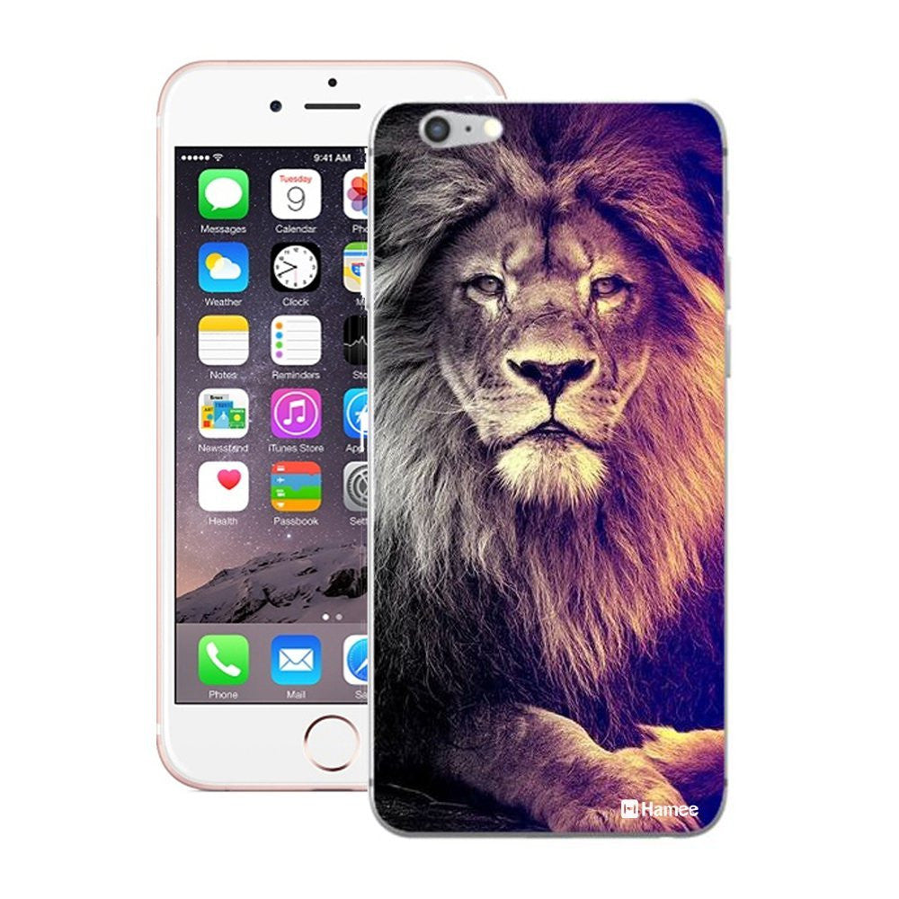 Hamee Lion Designer Cover For iPhone 5 / 5S / Se-Hamee India