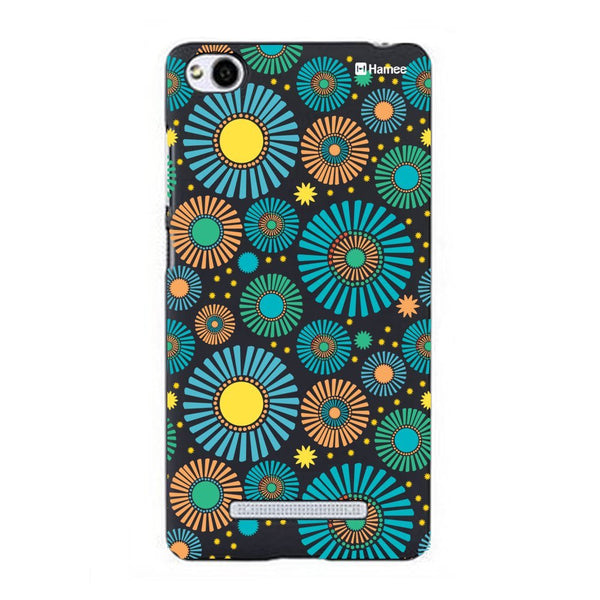 Hamee Blue Flower Bloom Designer Cover For Xiaomi Redmi 3-Hamee India