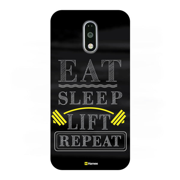 Hamee - Eat Sleep Lift Repeat -OnePlus 3T Phone Cover-Hamee India