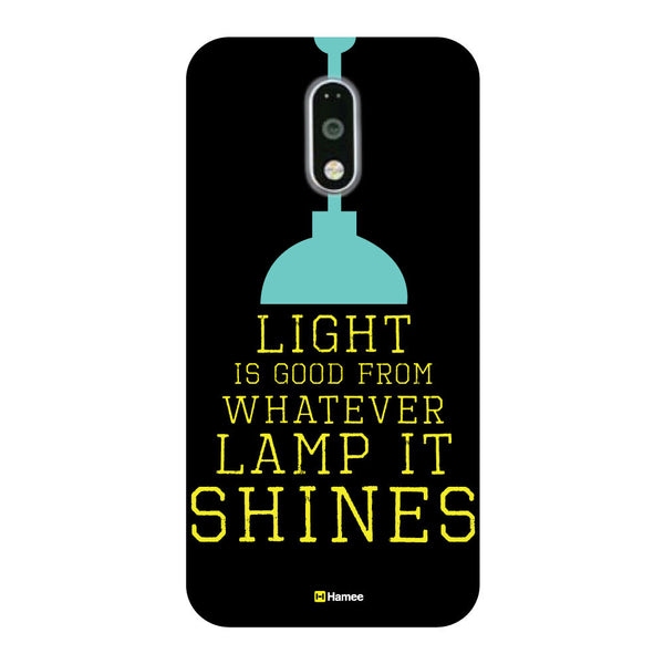 Hamee - Light is Good from whatever lamp it shines -OnePlus 3T Phone Cover-Hamee India