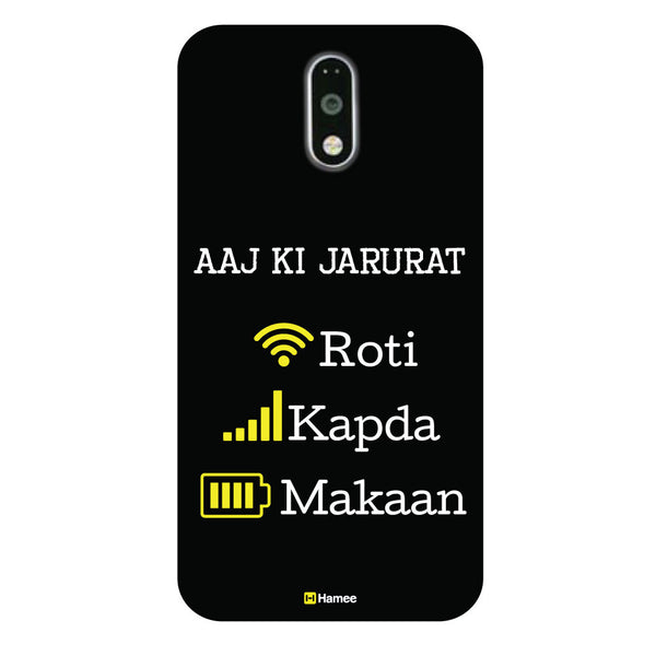 Hamee - Aaj ki Jarurat -Lenovo K6 Power Phone Cover - Hamee India