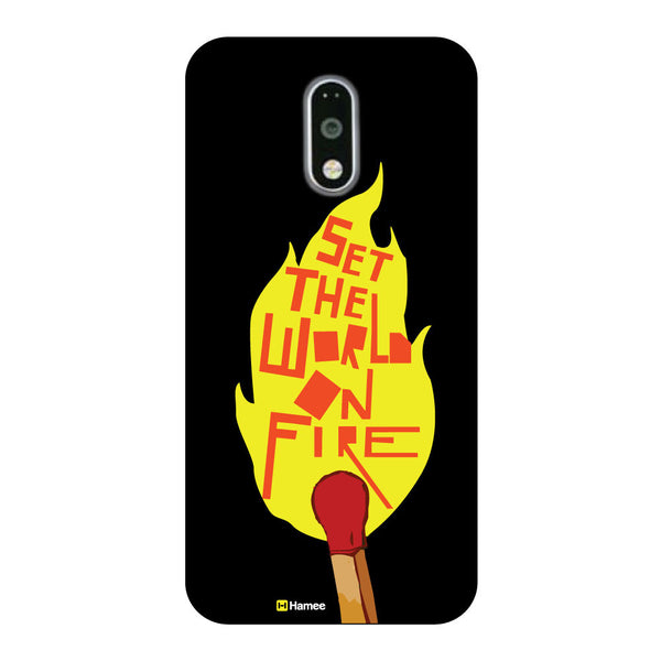 Hamee - Set the world on fire -OnePlus 3T Phone Cover - Hamee India