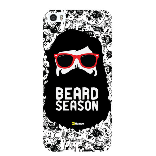 Hamee Original Movember / No Shave November Themed Inspired Cases Series Hard Case for iPhone 6 Plus /6S Plus (Beared Season)-Hamee India
