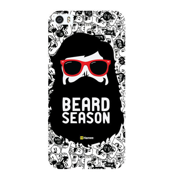 Hamee - Beared Season - Beard Design Themed Hard Case for Xiaomi Mi 6