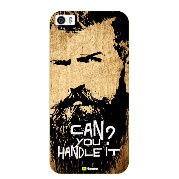 Hamee Original Movember / No Shave November Themed Inspired Cases Series Hard Case for iPhone 6 Plus /6S Plus (Can you Handle Mustaches)-Hamee India