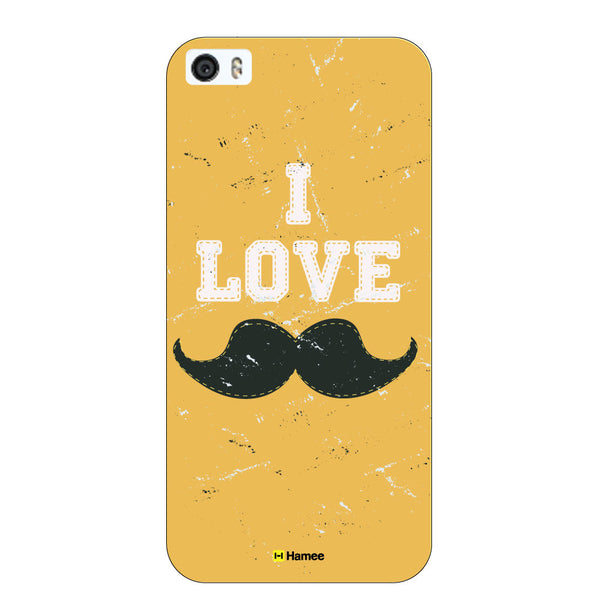 Hamee Original Movember / No Shave November Themed Inspired Cases Series Hard Case for iPhone 6 Plus /6S Plus (I Love Mustaches)-Hamee India