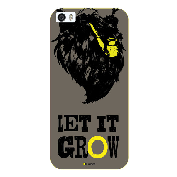 Hamee Original Movember / No Shave November Themed Inspired Cases Series Hard Case for iPhone 6 Plus /6S Plus (Let Beard Grow)-Hamee India