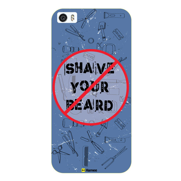 Hamee Original Movember / No Shave November Themed Inspired Cases Series Hard Case for iPhone 6 Plus /6S Plus (Shave Your Beard)-Hamee India