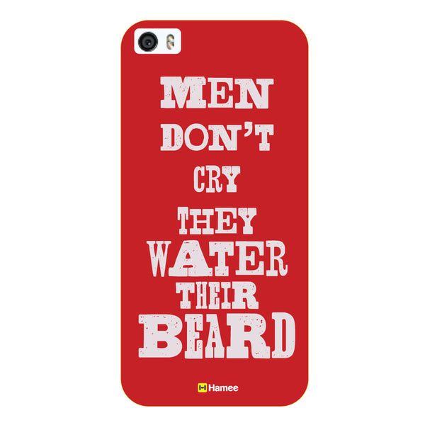 Hamee - Men don't Cry - Beard Design Themed Hard Case for Xiaomi Mi 6