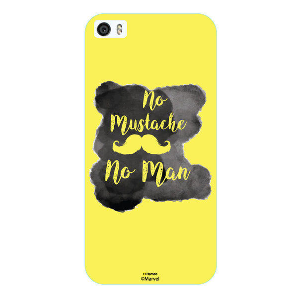 Hamee - No Mustaches No Men - Beard Design Themed Hard Case for Xiaomi Mi 6