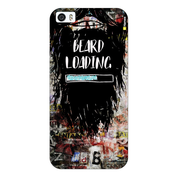 Hamee Original Movember / No Shave November Themed Inspired Cases Series Hard Case for iPhone 6 Plus /6S Plus (Beard Loading)-Hamee India