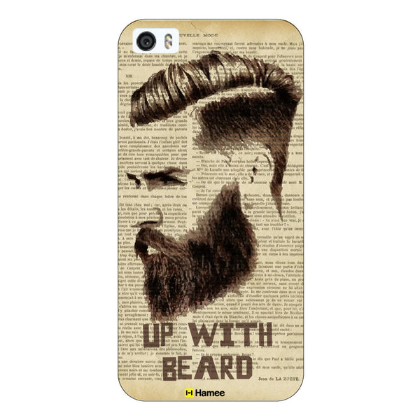Hamee - Up with Beard - Beard Design Themed Hard Case for Xiaomi Mi 6