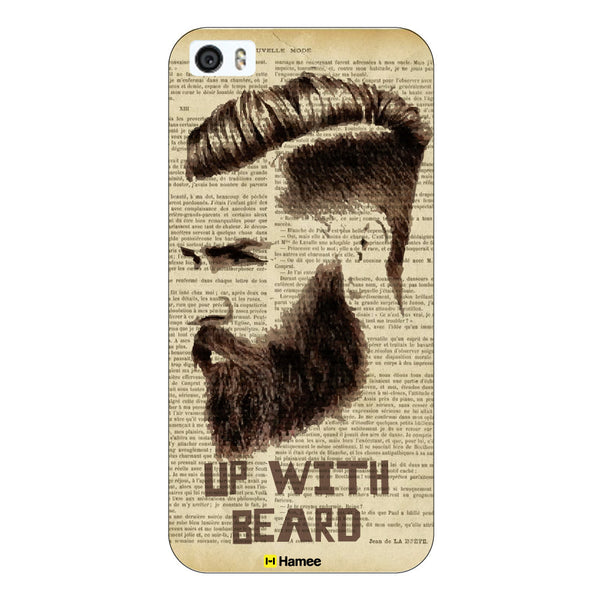 Hamee Original Movember / No Shave November Themed Inspired Cases Series Hard Case for iPhone 6 Plus /6S Plus (Up with Beard)-Hamee India