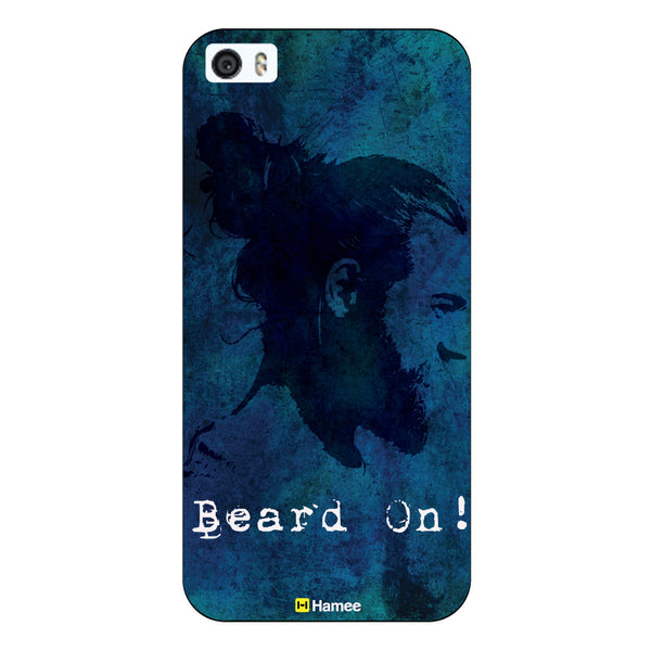 Hamee Original Movember / No Shave November Themed Inspired Cases Series Hard Case for iPhone 6 Plus /6S Plus (Beard On)-Hamee India