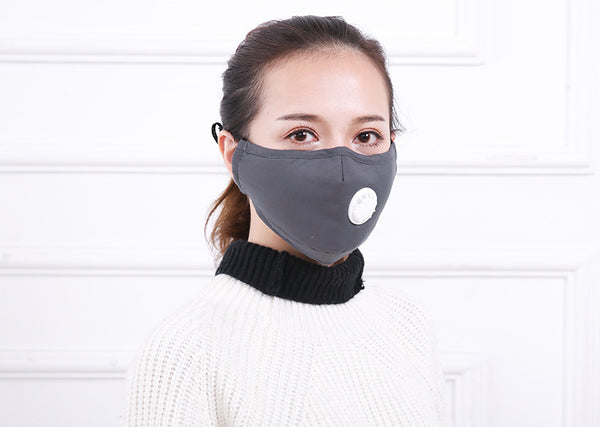 Anti Pollution Mask - Gray