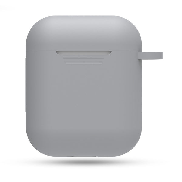 Silicon Airpods Case - Gray-Hamee India