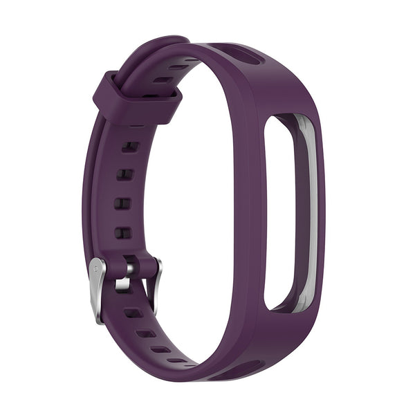 Honor Band 4 (Running Version) TPU Wrist Strap - Purple