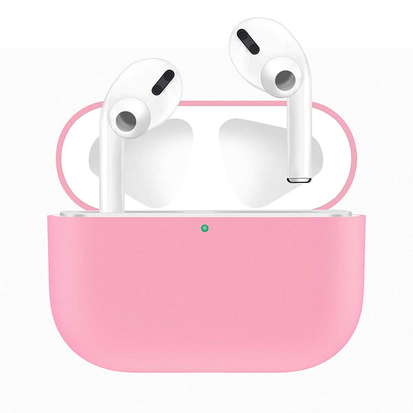 Silicone Airpods Pro Case - Pink