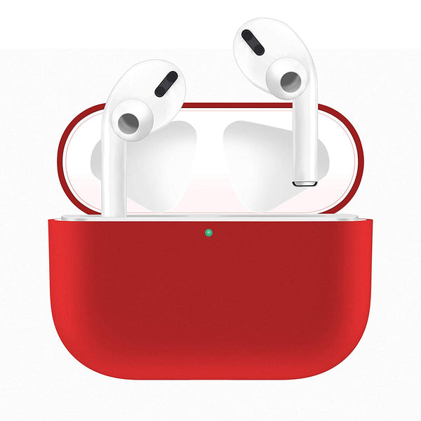 Silicone Airpods Pro Case - Red