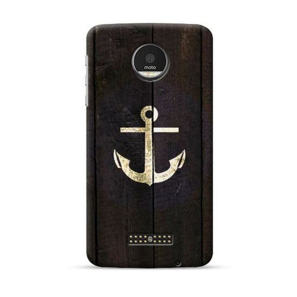 Hamee Official - Anchor - Lafula Designer Printed Hard Back Case for Moto E4