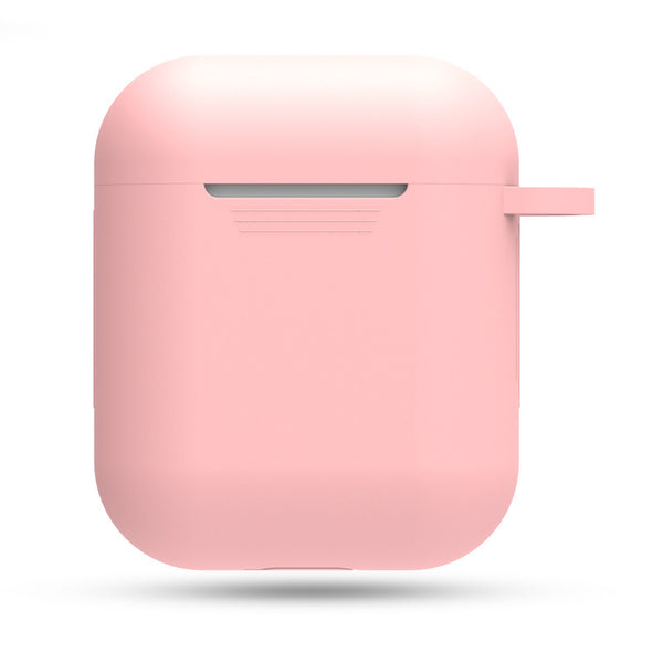 Silicon Airpods Case - Pink-Hamee India