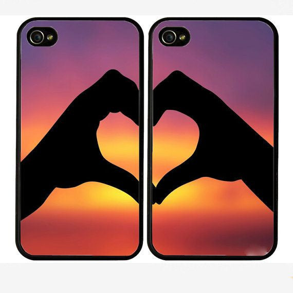 "Hamee Back Cover for iPhone 5 / 5S / SE / 5SE "" Love Of My Life Special Pack of Two Combo 38 "" - Hamee India"