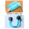 "Universal Waterproof Mobile Case - Set of 2 (Upto 6"")(Blue)"