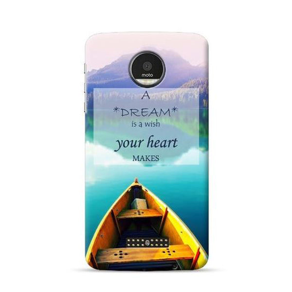 Hamee Official - Boats - Lafula Designer Printed Hard Back Case for Moto E4