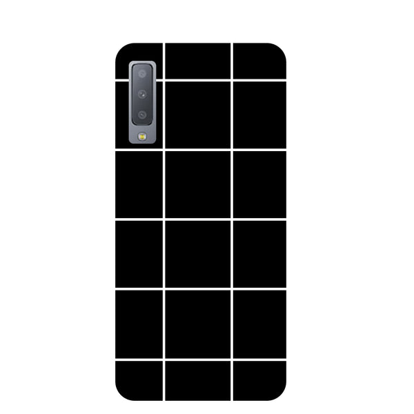 Checks Samsung Galaxy A7 Back Cover-Hamee India