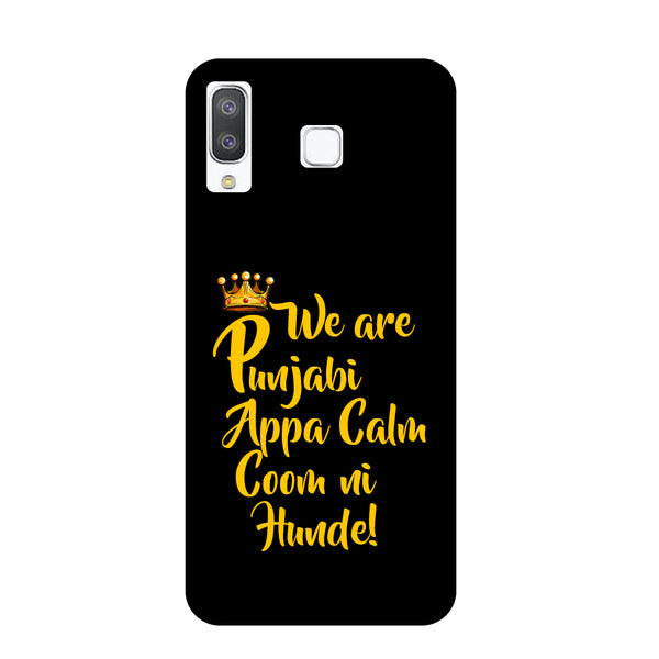 Punjabi Samsung Galaxy A8 Star Back Cover-Hamee India
