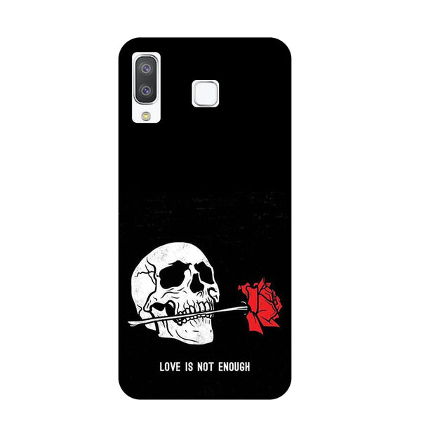 Love Samsung Galaxy A8 Star Back Cover-Hamee India
