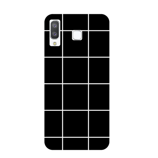 Checks Samsung Galaxy A8 Star Back Cover-Hamee India