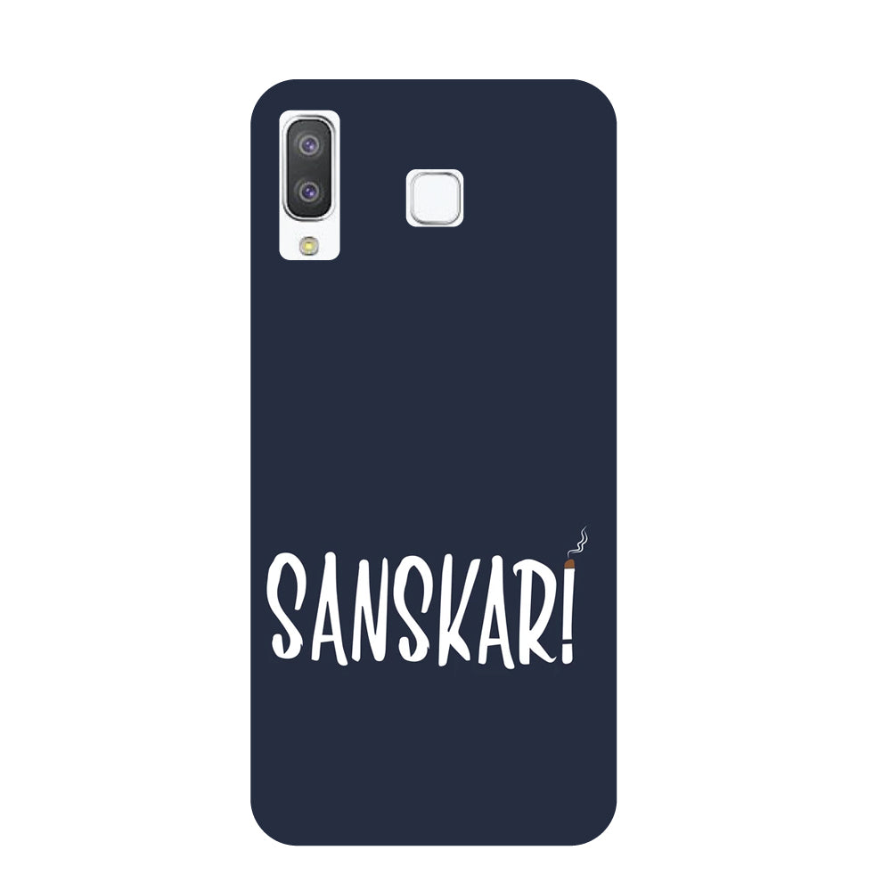 new concept 02b03 2c587 Sanskaari 2 Samsung Galaxy A8 Star Back Cover