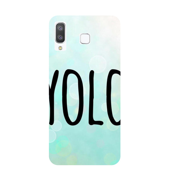 YOLO Samsung Galaxy A8 Star Back Cover-Hamee India