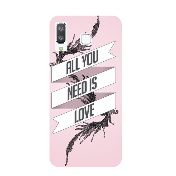All You Need Samsung Galaxy A8 Star Back Cover-Hamee India