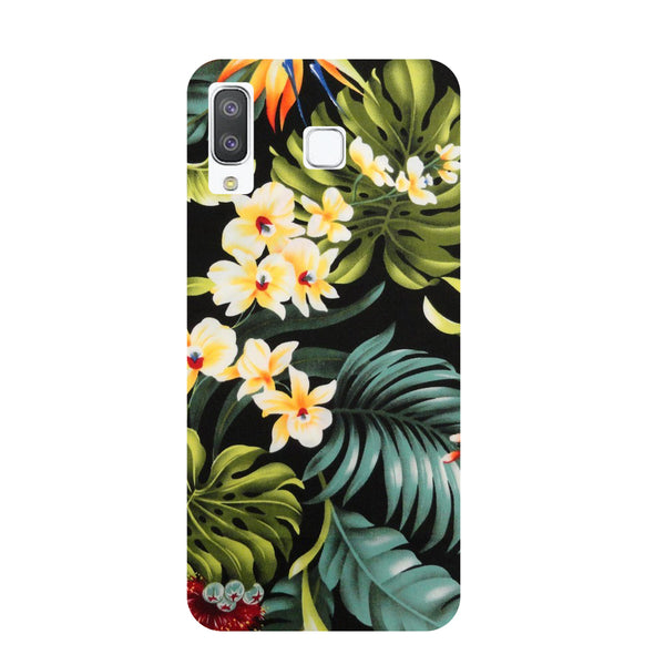 Tropical Bloom Samsung Galaxy A8 Star Back Cover-Hamee India
