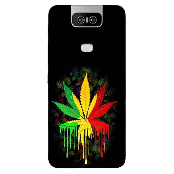 Rasta Asus 6Z Back Cover-Hamee India