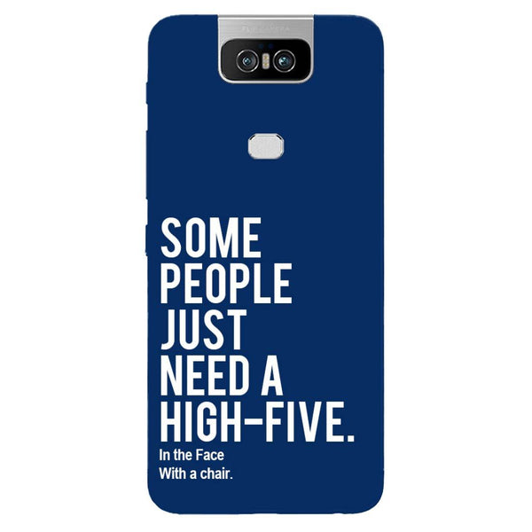 High Five Asus 6Z Back Cover-Hamee India