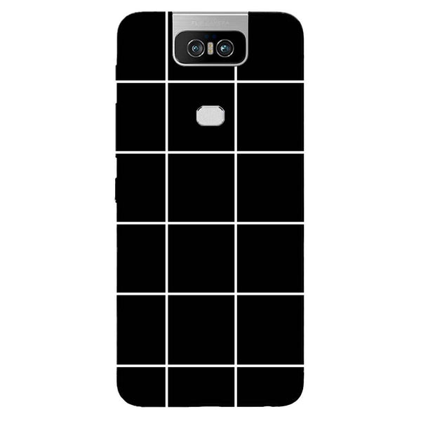 Checks Asus 6Z Back Cover-Hamee India