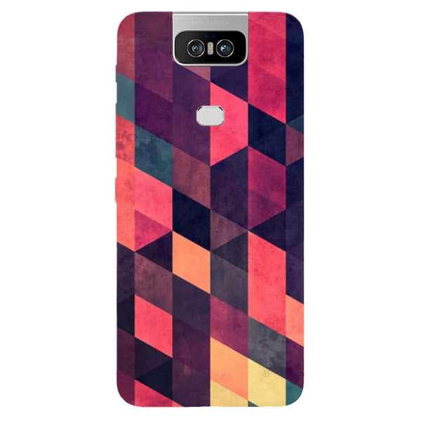 Pink Shades Asus 6Z Back Cover-Hamee India