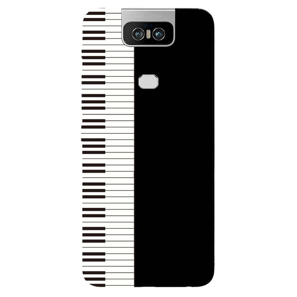 Piano Asus 6Z Back Cover-Hamee India