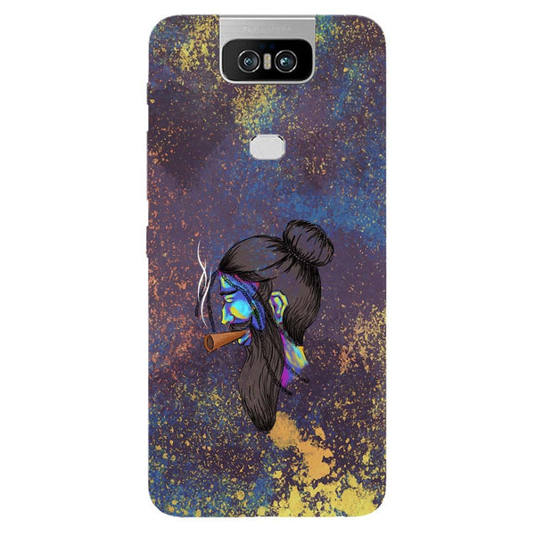 Cool Beard Asus 6Z Back Cover-Hamee India