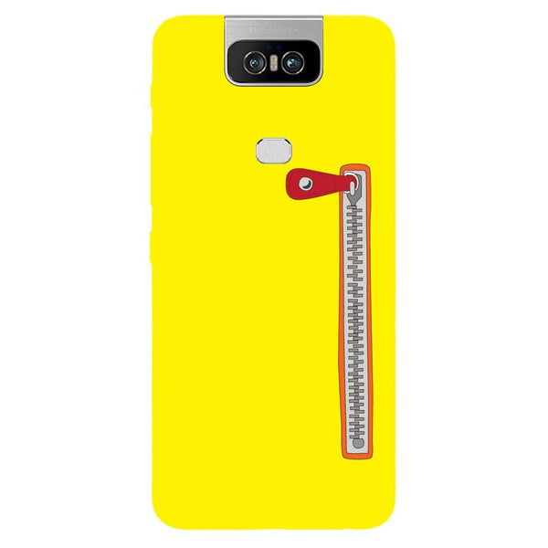 Zip Asus 6Z Back Cover-Hamee India