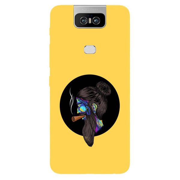 Bright Beard Asus 6Z Back Cover-Hamee India