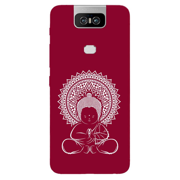 Baby Buddha Asus 6Z Back Cover-Hamee India